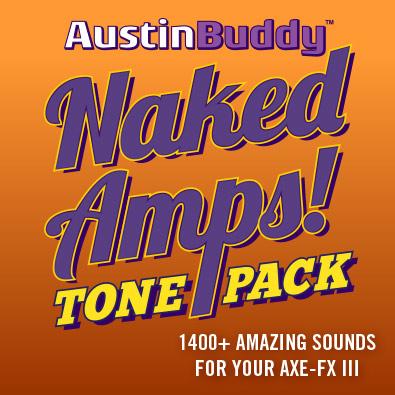 Axe-Fx III 1400+ Naked Amps!